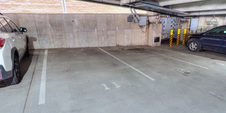 PARKING - downstairs